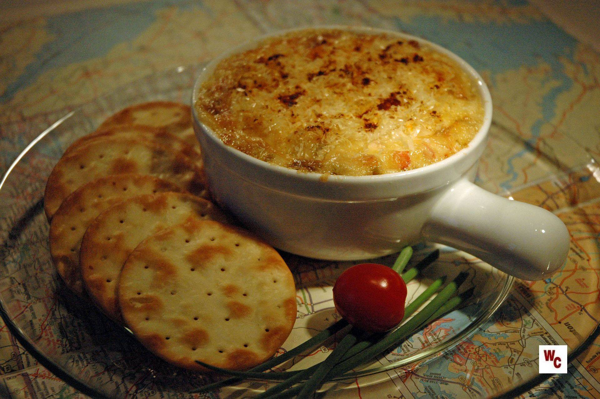 hot crab dip | What's Cooking