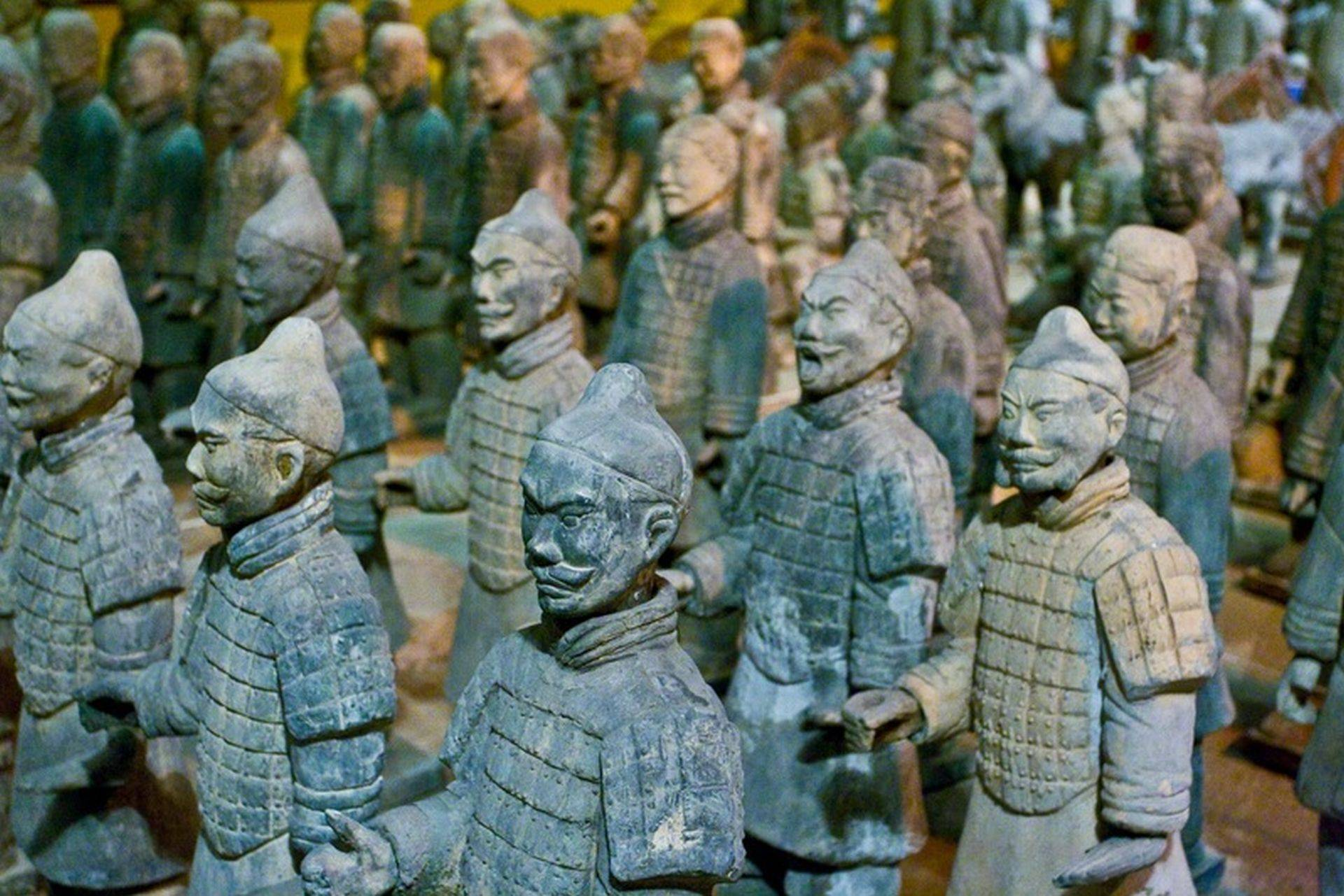 terracotta warriors of xian