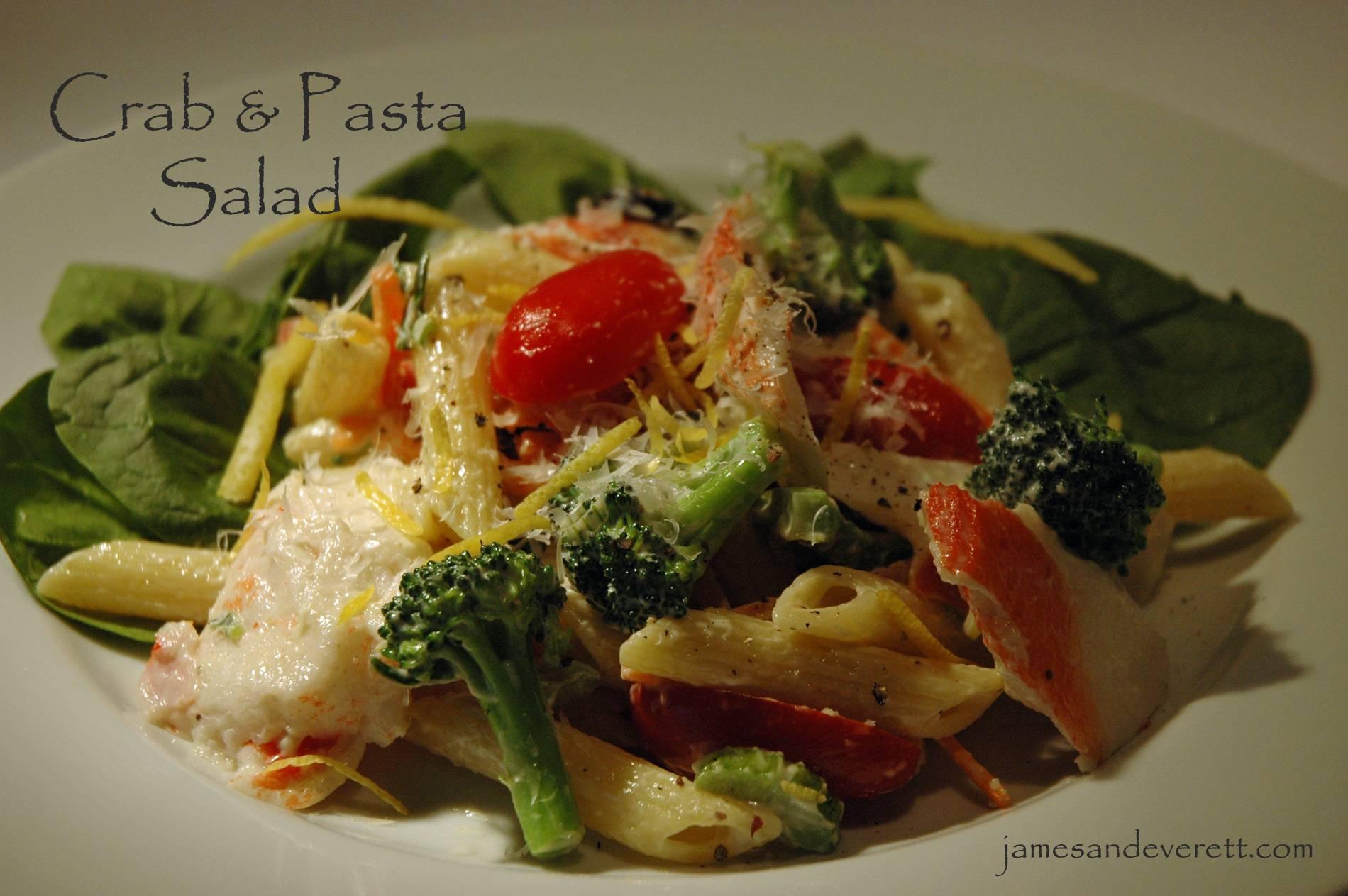 Crab & Pasta Salad