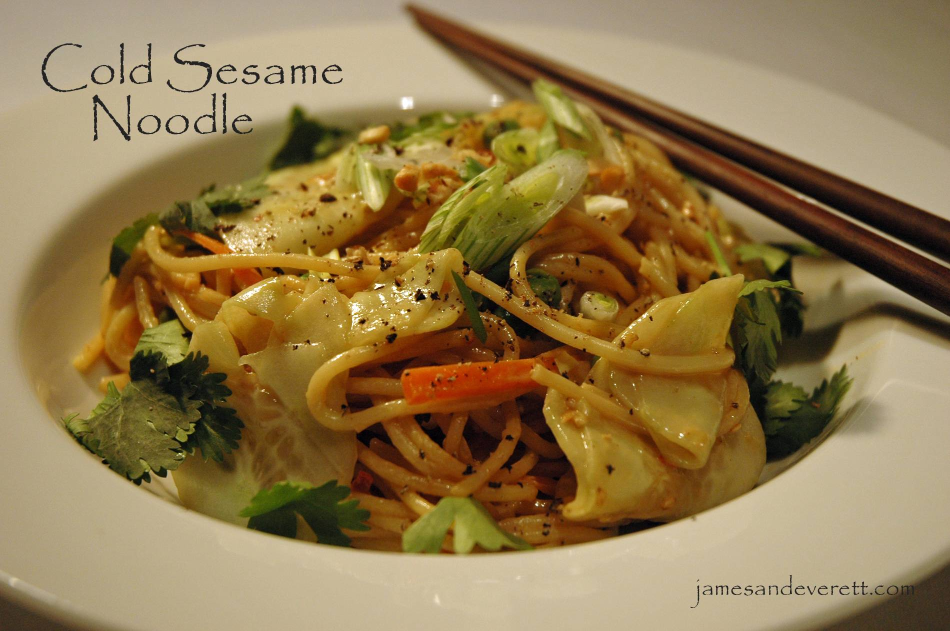 Cold Sesame Noodles | What's Cooking