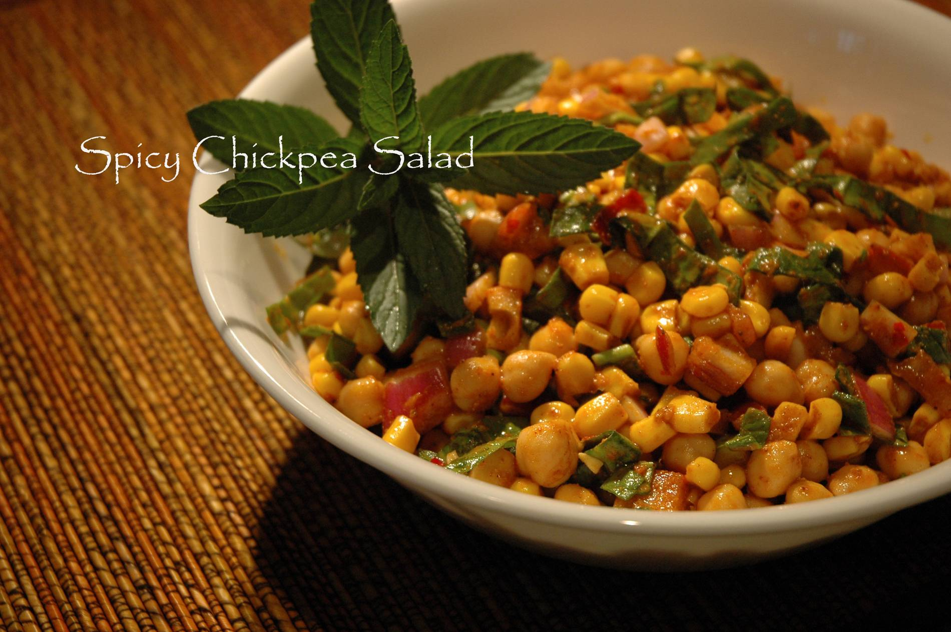 recipe for Chickpea Salad with Lemon, Parmesan, and Fresh Herbs