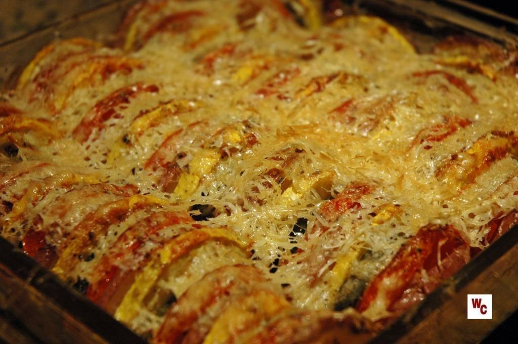 Vegetable Tian | What's Cooking