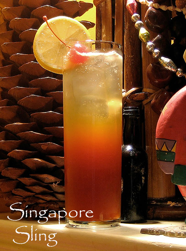 an exotic mix of flavors the singapore sling is a drink like no other ...