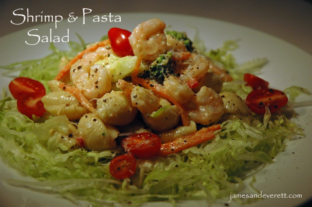 Shrimp Pasta Salad Recipe — Dishmaps