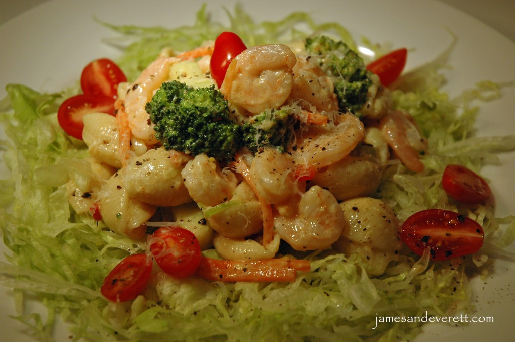 Shrimp & Pasta Salad | What's Cooking