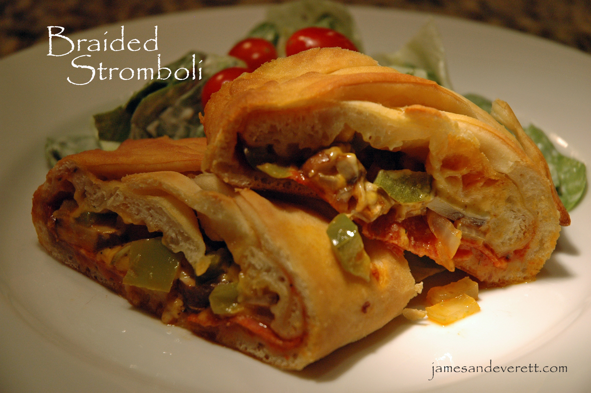 Braided Stromboli | What's Cooking