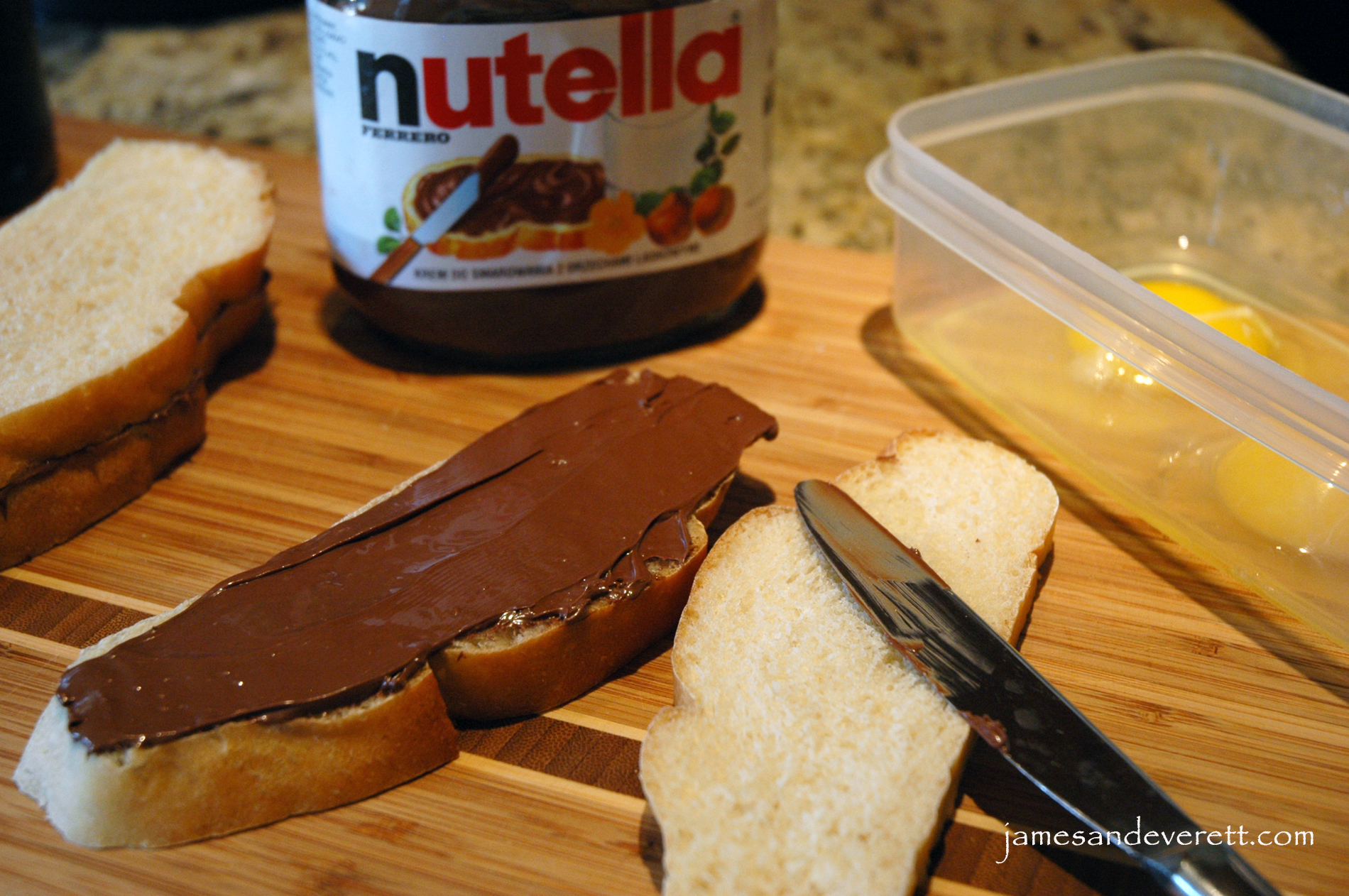 Nutella Filled French Toast | What's Cooking