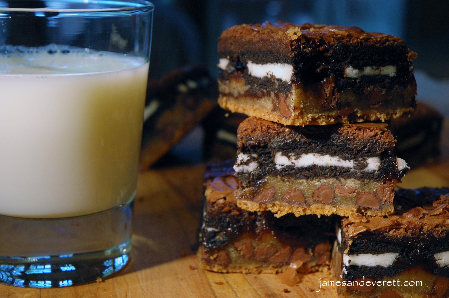 ... Triple Chocolate Oreo Brownies Vegan Chocolate | Dark Brown Hairs