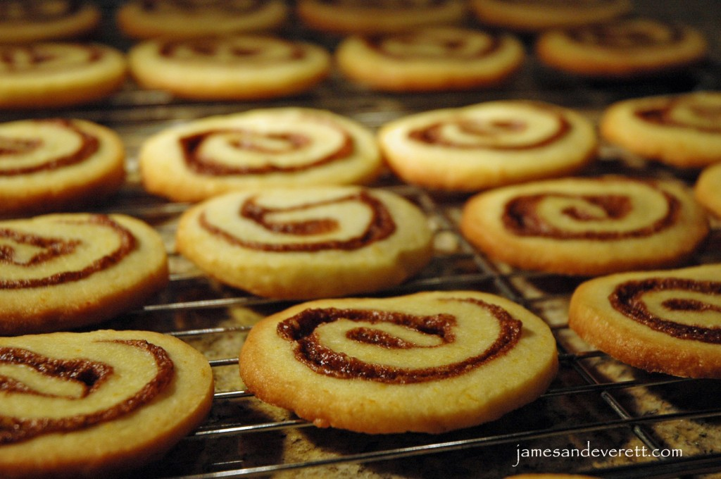 Orange Cinnamon Roll Cookies | What's Cooking