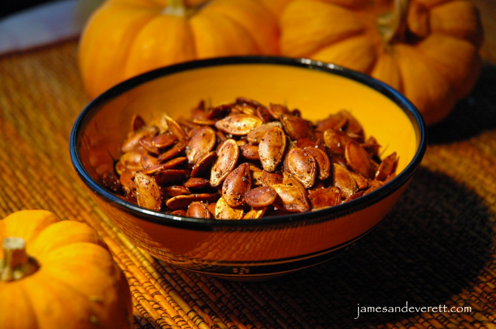 Roasted Pumpkin Seeds | What's Cooking