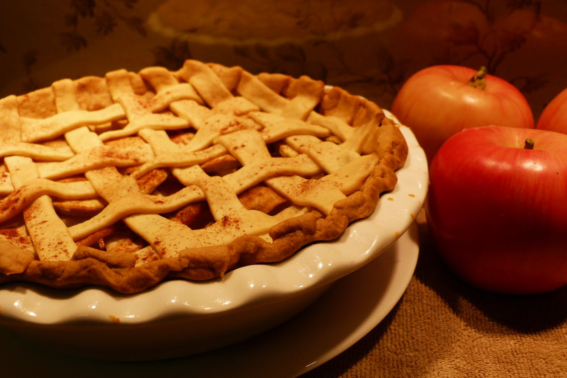 Get Baked: Rosemary Apple Pie With Sourdough Crust ...