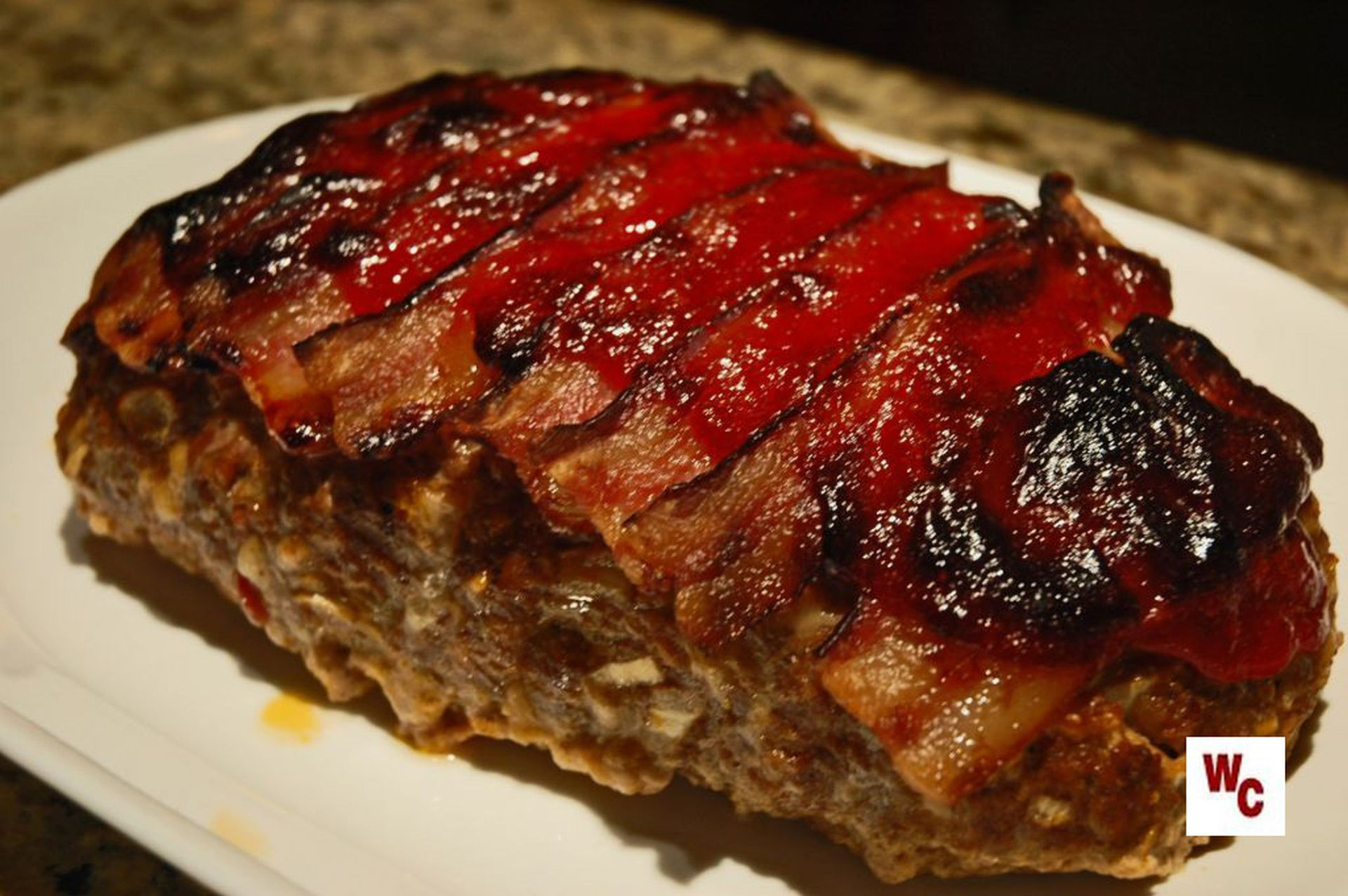 Blue Plate Special: Bacon topped Meatloaf | What's Cooking