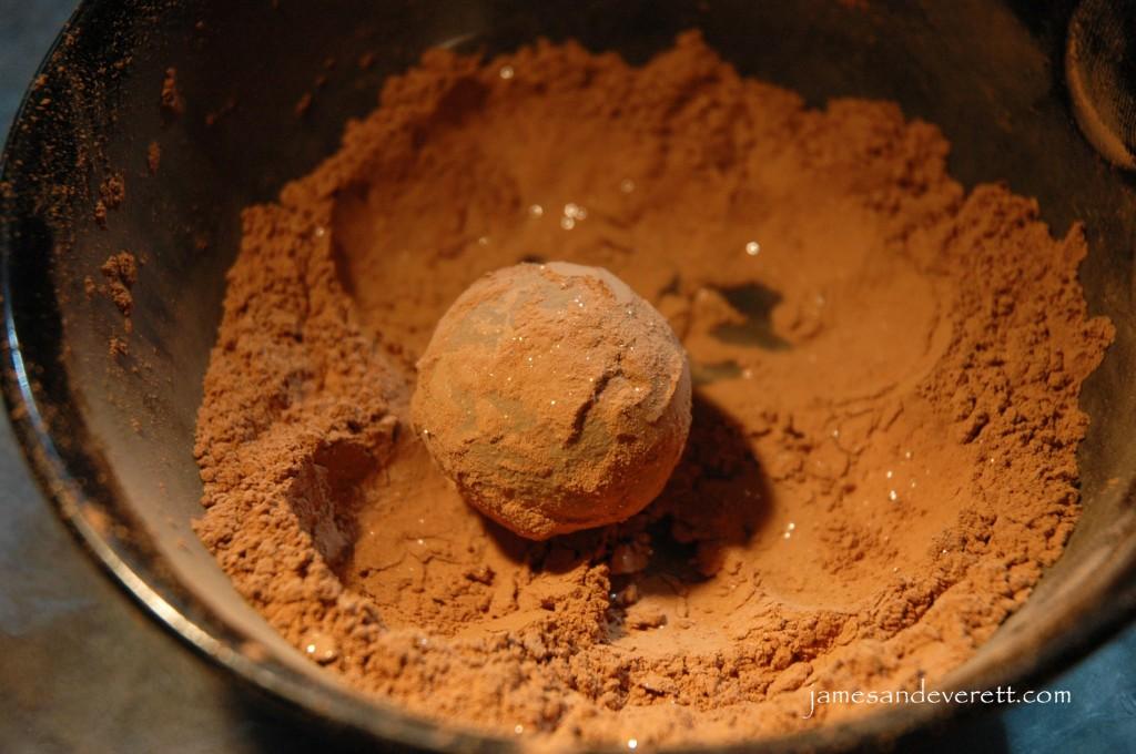 Nutella Hazelnut Truffles | James & Everett