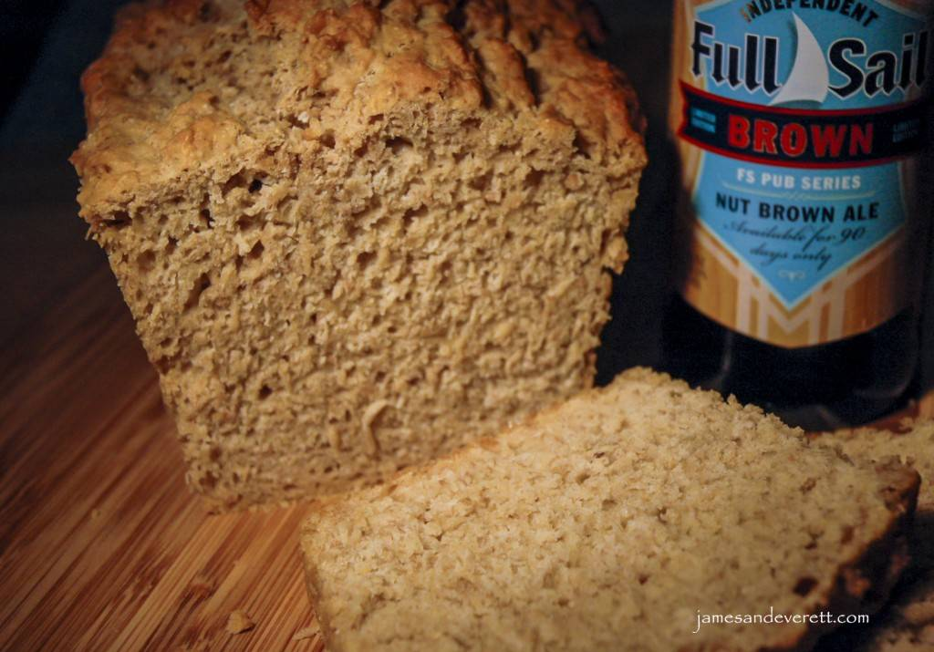 Nut Brown Ale Beer Bread | James & Everett