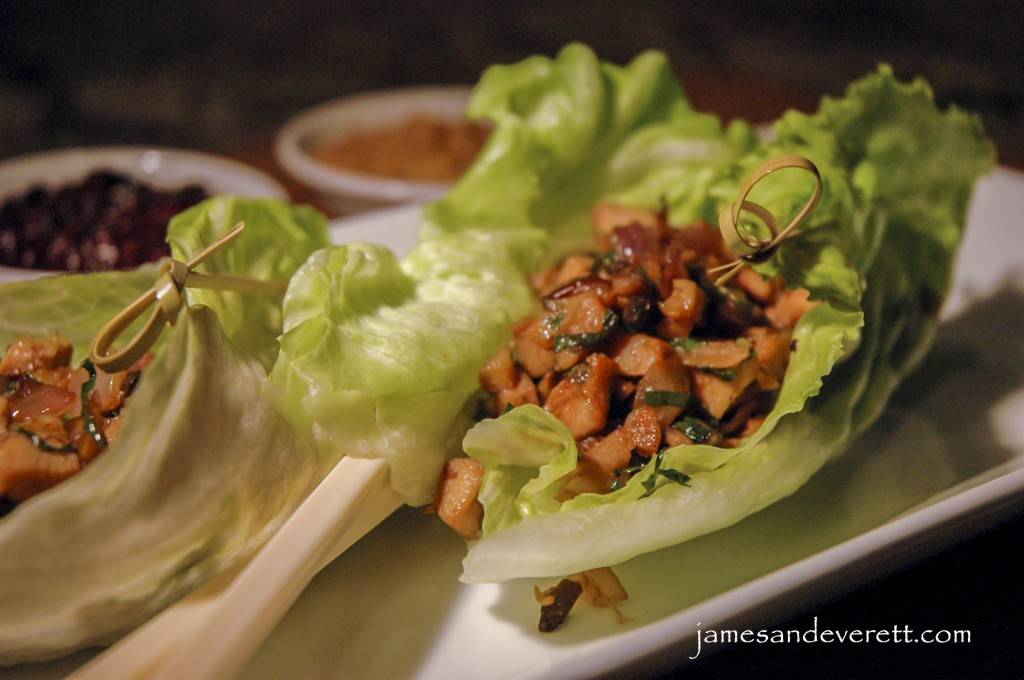 Asian Chicken Lettuce Wraps | James & Everett
