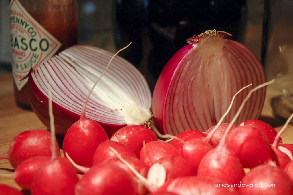 Pickled Radishes | James & Everett