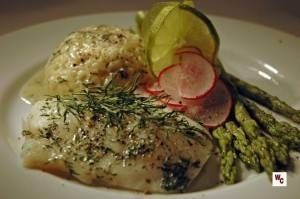 Baked Cod with Dill