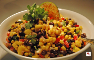 Black Bean Corn & Mango Salad