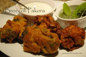 Broccoli & Onion Pakora