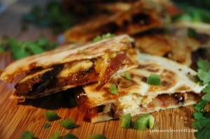 Western Steak Quesadilla